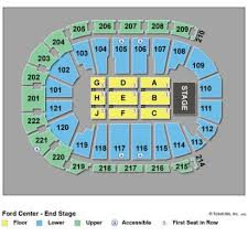 Ford Pavillion Beaumont Tx Seating Chart 2019