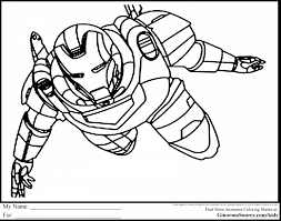 Small Picture incredible iron man coloring pages printable with superhero