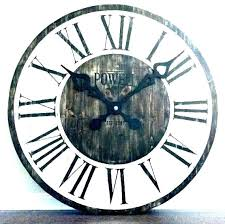 wall clocks hobby lobby large rustic metal oversized clock at gold awesome