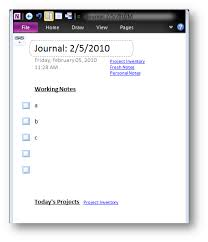 Onenote Daily Journal Onenote 2010 Docking A Window On Startup Andrejs Random Bursts