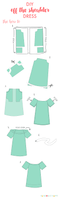 Off The Shoulder Dress Pattern