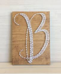 letter b wall decor personalized string art by carolinastrings on wall art letter b with letter b wall decor personalized string art by carolinastrings