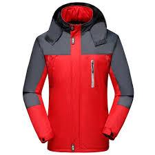 winter men cycling hiking jacket climbing sport coat outwear fleece windbreaker hoos waterproof plus size 5xl