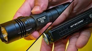P18 и P22 - новые модели тактических <b>фонарей</b> от <b>Nitecore</b>