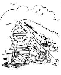 Train Car Coloring Pages free printable train coloring pages for kids on train car coloring pages