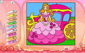 Small Picture Princess Coloring Page Printables Apps for Kids