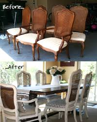 refurbished dining room chairs refurbished dining chairs reclaimed wood dining table and chairs french cane chair update tutorial painted with annie sloan