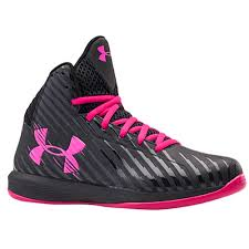 under armour womens basketball shoes. women\u0027s under armour basketball jet black tropic pink color womens shoes r