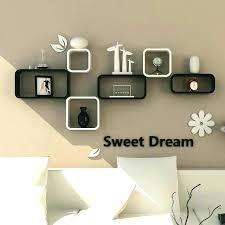 great wall mounted decorative shelf vintage living room backdrop mount rack cabinet clapboard creative light panel
