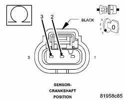 help my car dies while driving now measure the resistance between the k24 ckp signal circuit and the k900 sensor ground circuit in the crankshaft position sensor harness connector