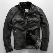 avirex fly pattern genuine leather jacket men harley style black cowskin motorcycle jacket slim biker jacket