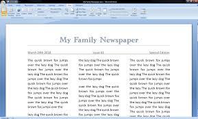 Newspaper Report Template Microsoft Word 001 Newspaper Article Format Microsoft Word Example Template