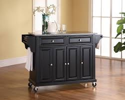 White Kitchen Cart With Granite Top Kitchen Carts Kitchen Island With Seating And Storage Cottage
