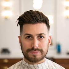 Hairstyles For Men Cool Signature New Haircuts Messy Short Black