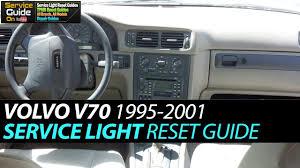97 Volvo 850 Service Light Reset Volvo V70 Service Light Reset 1995 2001
