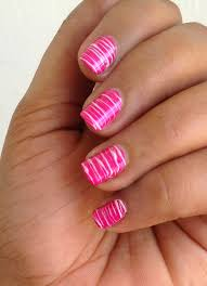 Line nail art designs - how you can do it at home. Pictures ...