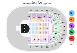 Bi Lo Center Seating Chart Greenville Sc Lauren Daigle Bon Secours Wellness Arena