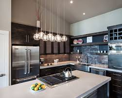 Kitchen, Kitchen Overhead Lighting Ideas White Pendants Rectangular Silver  Range Hood Modern Led Ideas: