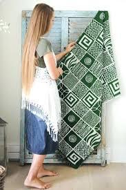 green throw rug lime rugs