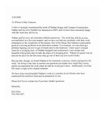 Reference Letter To Whom It May Concern Evoo Tk