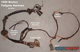 ford bronco wiring harness wiring diagram and hernes dash wiring harness ford bronco forum