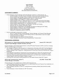 Test Manager Sample Resume Test Manager Sample Resume Awesome Immigration Attorney Resume 9