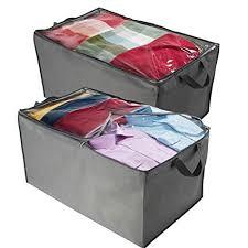 Amazon.com: ZOBER Jumbo Storage Bag, Breathable Blanket, Clothes ...