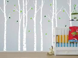corner tree wall decals for nursery