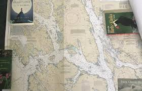 Southeast Alaska Chart Marine Chart Juneau Is On Far Right William Arthur Hanson
