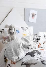 linen house pets life kids duvet cover set multi