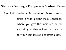 Compare Contrast Essay Ppt Compare And Contrast Essay Powerpoint Presentation