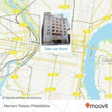 How To Get To Merriam Theater In Philadelphia By Bus Train