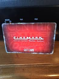 50 cinemark gift card for 40 1 of 1 see more