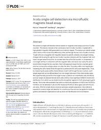 Via Detection Situ Cell Single In Bead Assay Microfluidic Magnetic Pdf qfXpwIA