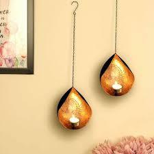 wall art tea light candle holder