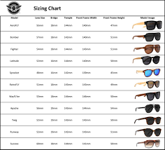 Sunglasses Frame Size Chart Oakley Frame Size Heritage Malta