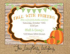 7 Best Invitations Images Fall Party Invitations Holidays