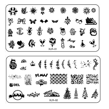 popular xmas images buy cheap xmas images lots from xmas 1pc halloween christmas xmas theme designs nail art stamping plates templates nail art stamp template
