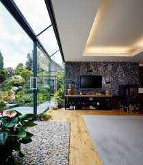 contemporary structural glass sliding door transform architects house extension ideas disabled adaptations contemporary residential architects