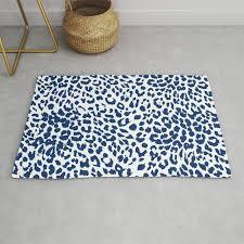 light leopard skin rug