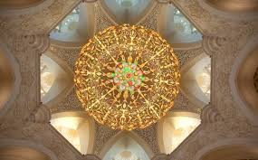 sheikh zayed mosque ceiling