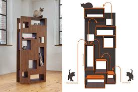 modern cat tree furniture. seven modern design cat trees and two shelves cattower more tree furniture l
