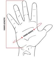 how to measure hand size for gloves exstream flex glove simms fishing products