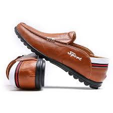 men shoes leather summer mens loafers sneakers male