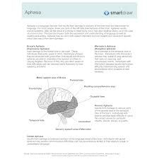 Aphasia Chart Aphasia