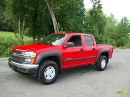 2004 Victory Red Chevrolet Colorado Z71 Crew Cab 4x4 #52547825 ...