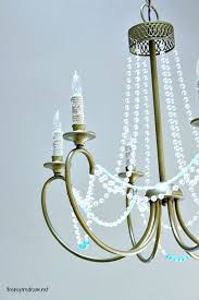 diy beaded chandelier tutorial crystal beaded chandeliers for low ceilings