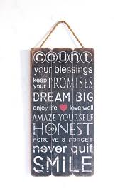 Decorative Signs With Quotes