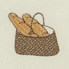 Bread Embroidery Design Bread Basket Embroidery Design 7 Sizes 6 99 At E Embroidery