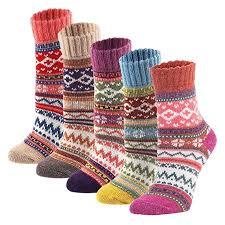 YZKKE 5Pack <b>Womens Vintage</b> Winter <b>Soft</b> Warm Thick Cold Knit ...
